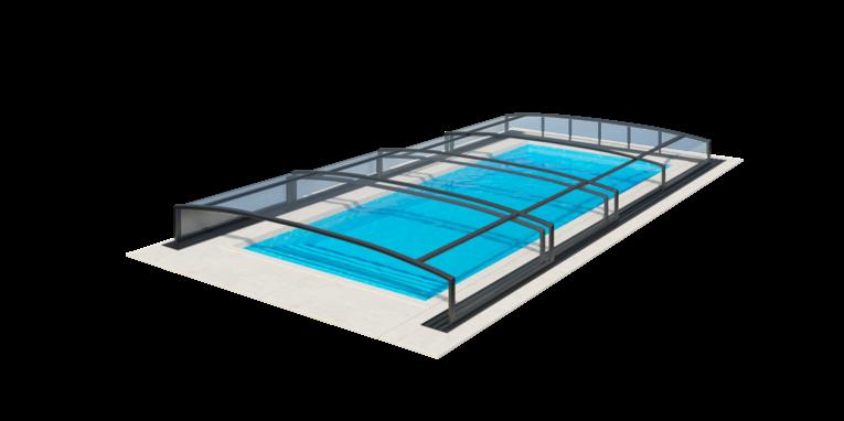 nizke prekrytie bazéna viva