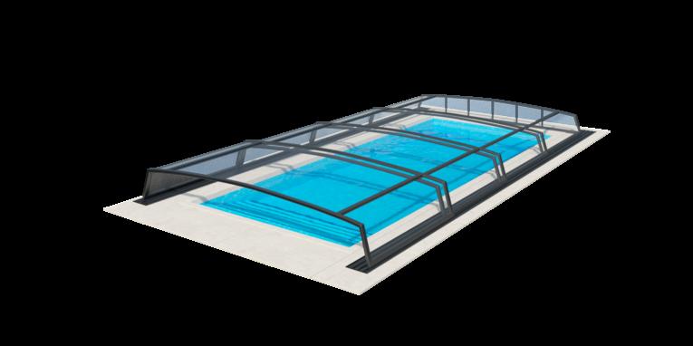 nizke prekrytie bazéna corona
