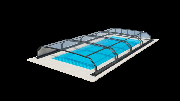 nízke prekrytie bazéna riviera