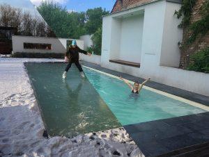 Prečo cez zimu nevypúšťať bazén?
