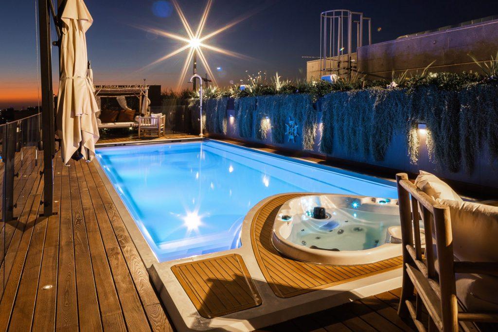 keramicky bazen yacht pool