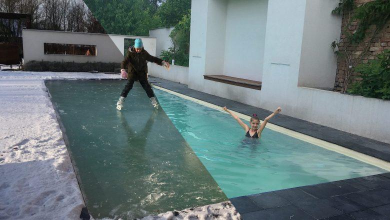Prečo cez zimu nevypúšťať bazén? Šetríme vodu a vaše peniaze - HydroEco Pool
