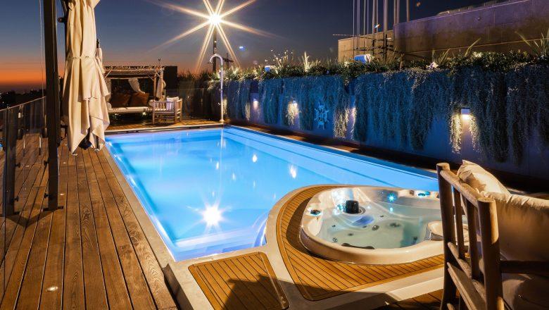 YACHT POOL - jediný bazén s dizajnovými cenami